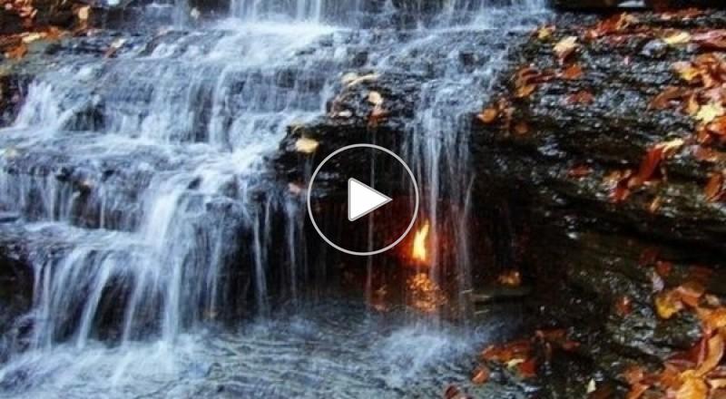 شعلة نيويورك تتوقد من قطرات المياه منذ آلاف السنين
