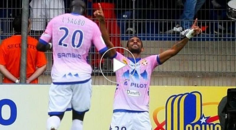 التونسي صابر خليفة يسجل هدفاً عالمياً في الدوري الفرنسي