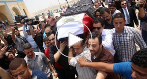مصر: جماهير غفيرة تشيّع جثمان عمر الشريف