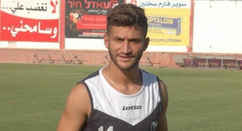 محمد غدير يباشر تدريباته في الاتحاد السخنيني ويستعد للقاء مـ حيفا