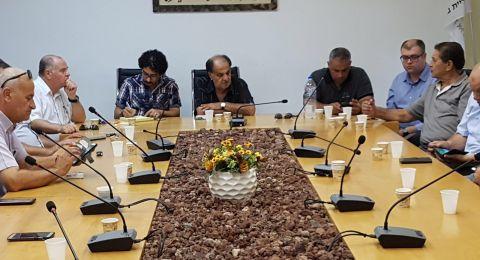 خطوات احتجاجية في باقة بعد مقتل رجل الأعمال احمد زهدي