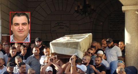 باقة الغربية تشيع جثمان المغدور احمد زهدي