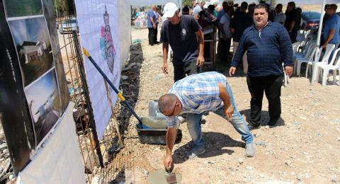 المقيبلة: وضع حجر الأساس للملعب البلدي بمشاركة الوزيرة ريغف