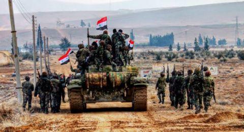 الجيش السوري يواصل تقدمه في عمق بادية السويداء الشرقية