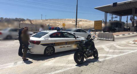 ضبط سائق دراجة نارية قادها بسرعه 136 كيلو متر في الساعة