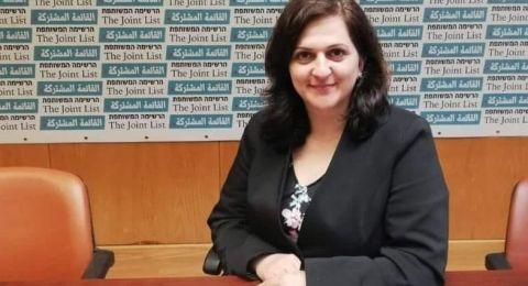 نيفين أبو رحمون .. ثالث امرأة ضمن نواب المشتركة، وأصغرهم سناً .. وهذا ما تقوله عن التحدي الجديد