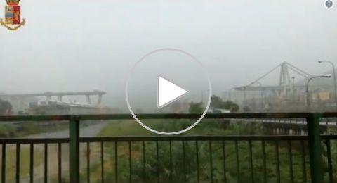 ايطاليا: مقتل العشرات بانهيار أحد جسور السيارات في مدينة جنوى