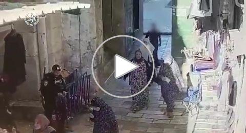 الشرطة تنشر فيديو عملية القدس وتدعي: المنفذ فحماوي!