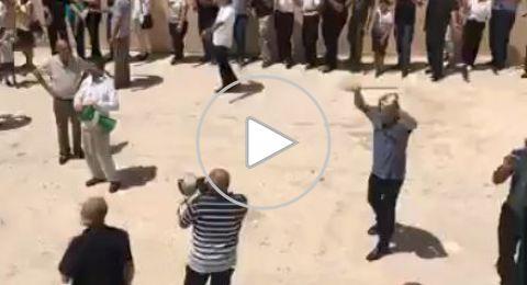 الناصرة: مبارزات بالسيف ودبكة في احتفالية عيد السيدة العذراء