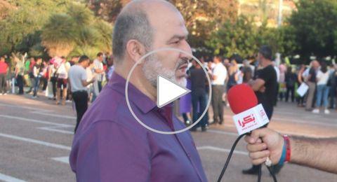 النائب حاج يحيى: اسرائيل وبخت سفير الاتحاد الاوروبي لموقفه من القانون