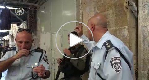 ام الفحم: اجواء مشحونة عقب اقتحام الشرطة لبيت الشهيد محاميد