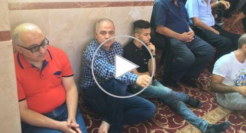 جمعة ذي الحجة الأولى بجامع عمر المختار يافة الناصرة
