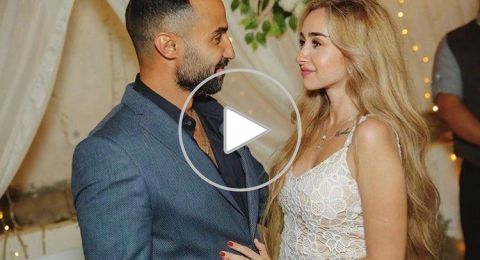 خطوبة هنا الزاهد وأحمد فهمي في حفل عائلي