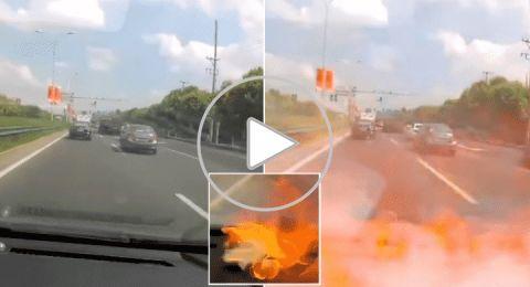 انفجار بطارية آيفون داخل سيارة تقودها امرأة في الصين