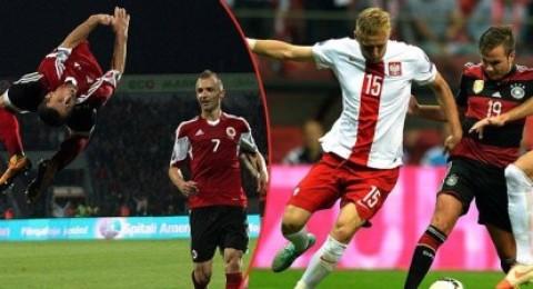 بولندا تصدم ألمانيا وتهزمها بهدفين وتعادل فنلندا مع اليونان وألبانيا والدنمارك