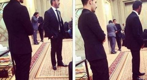الصورة الأولى لـِ كاظم الساهر في عزاء شقيقه!