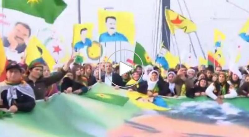 20 ألف كردي يتظاهرون ضد داعش في ألمانيا
