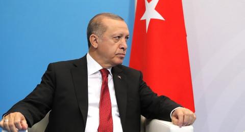 أردوغان يتهم واشنطن بدعم