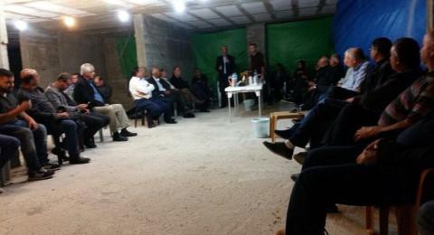 عارة: محاضرة حول التخطيط ومشاكله في الخيمة الإسنادية لجزماوي