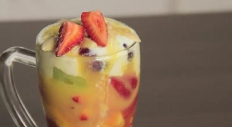 اليك، طريقة كوكتيل الفواكه
