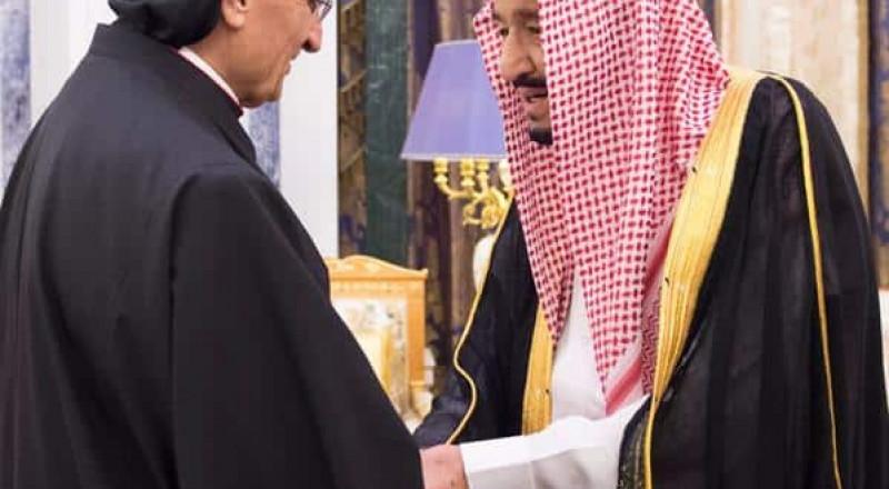 ملك السعودية يستقبل البطريرك اللبناني بشارة الراعي