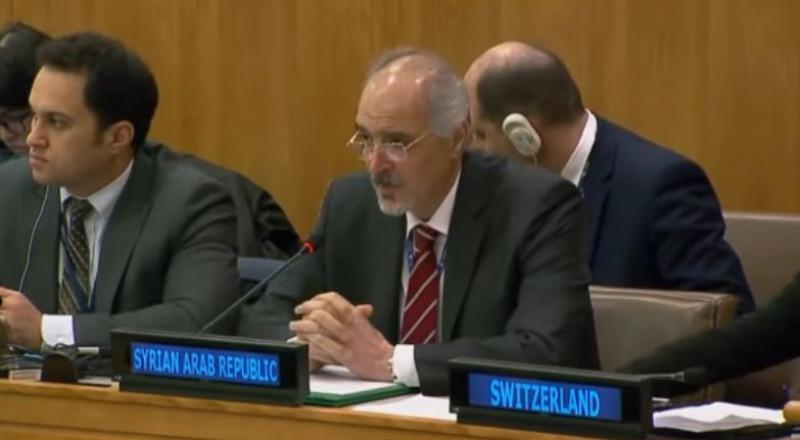 مندوب سورية بالأمم المتحدة يهنئ مندوب السعودية .. فماذا قال له؟