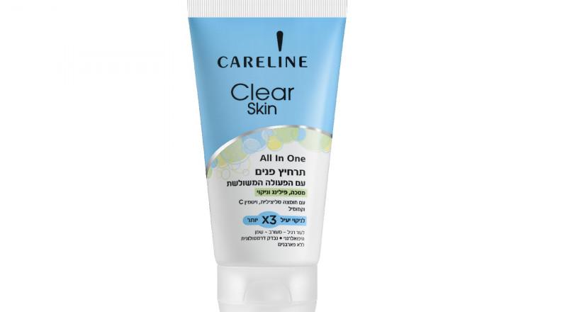 Careline تطلق منتجًا جديدًا من مجموعة Clear Skin وهو All In One