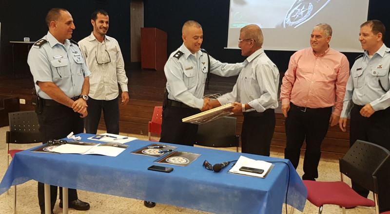 طمرة: ندوة في التنمية البشرية بمشاركة اللواء حكروش ورئيس البلدية