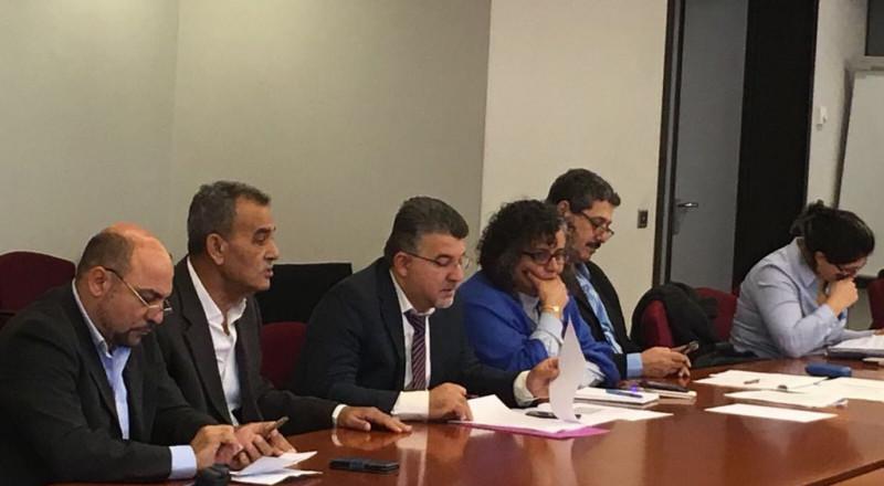 وفد المشتركة يطلب من أوروبا معارضة مشروع ״تبادل السكان״ الترنسفيري