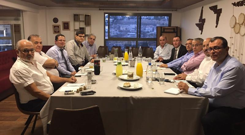 رئيس بلدية الناصرة يبادر الالتقاء بمدراء المستشفيات في الناصرة