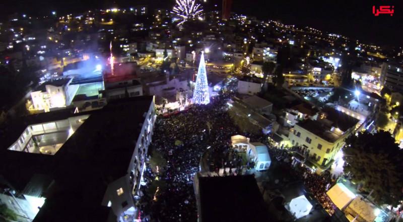 الناصرة: إضاءة شجرة الميلاد يوم 17.12 .. وننتظركم في