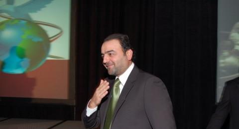 سامر المصري في نيورك لدعم فلسطين
