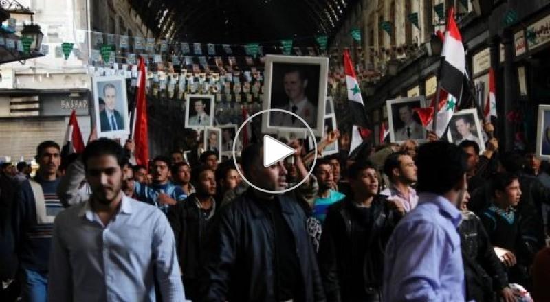 مظاهرات سوريا