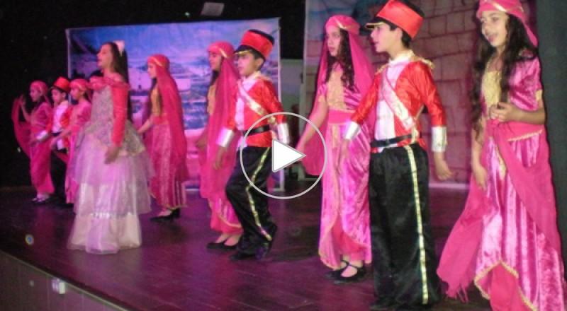 مسرحية أميرة السلام بالمركز الجماهيري في دير الاسد
