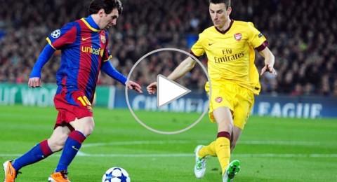 """الليلة: برشلونة يستقبل أرسنال """"الجريح"""" في صراع التأهل لربع النهائي"""