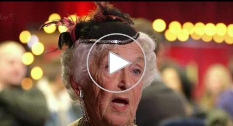 مسنة بريطانية تبهر لجنة التحكيم برقصة