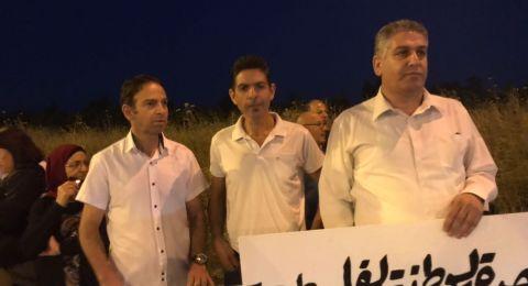 الطيبة: تظاهرة احتجاجية تنديدا بمجزرة غزة
