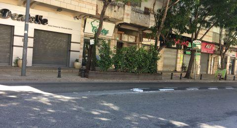 صور من الناصرة، رهط، يافا، شفاعمرو وأم الفحم: التزام شبه تام بالإضراب