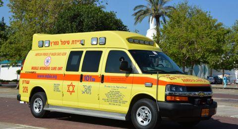 إصابة عامل سقط في ورشة برحوفوت قرب تل أبيب