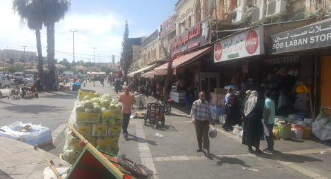 اسواق القدس: حركة تجارية في اليوم الثالث من رمضان