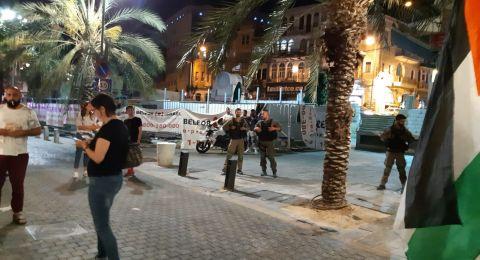 المتابعة: الشرطة اعتدت بوحشية على مظاهرة حيفا تنفيذا لأوامر عليا