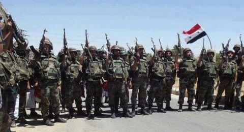 اتفاق على وقف إطلاق النار بين الجيش السوري و