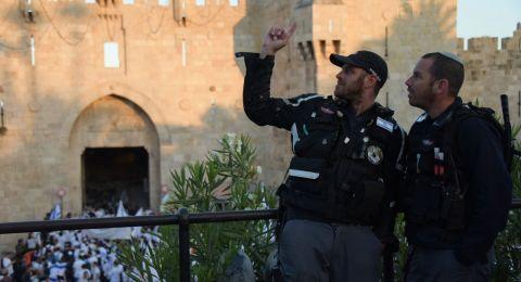 الشرطة الاسرائيلية تنشر الآلاف من قواتها في القدس استعدادا لاحتفال افتتاح السفارة
