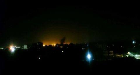إسرائيل تقصف عدة مواقع في غزة