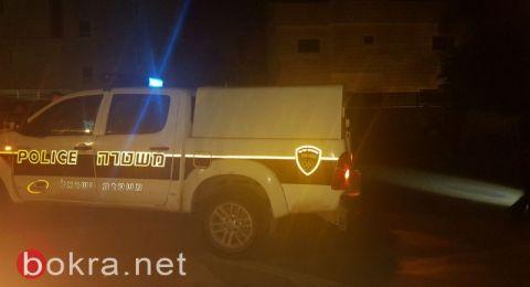 عرب الهيب: إصابة خطيرة لسائق دراجة نارية اصطدم بمقطورة شاحنة