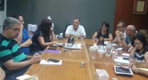 الناصرة: البلدية تؤجل جلسة اليوم، تتبنى قرار المتابعة وترتب لخطوات احتجاجية في أعقاب العدوان على غزة