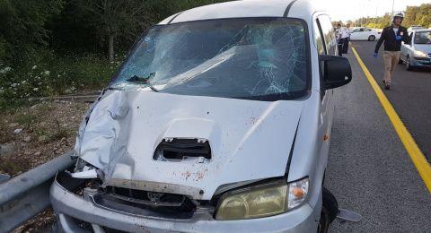 مصرع شاب وإصابة آخرين بحادث طرق مروع قرب اللد