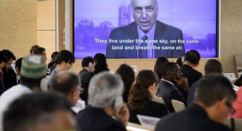 المجلس الأممي لحقوق الإنسان: إسرائيل ارتكبت جريمة حرب في غزة