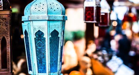 الفانوس في ديكورات المنزل في رمضان