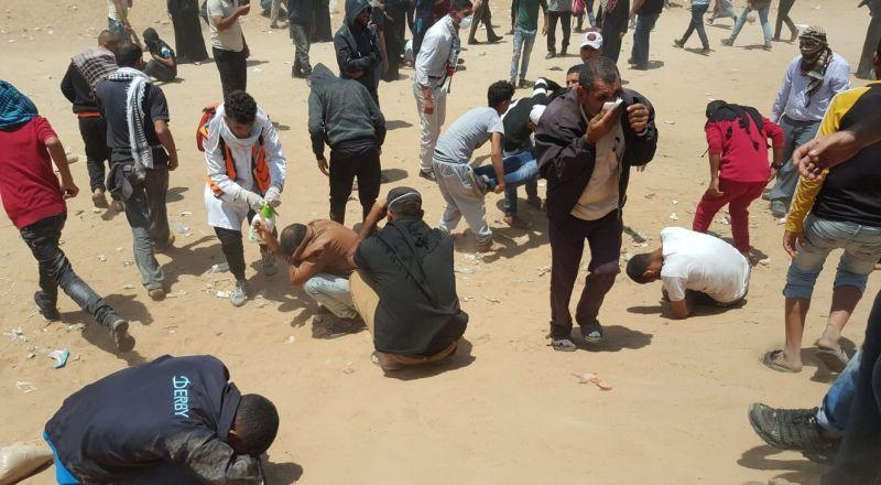 اليونيسيف: أكثر من 1000 طفل أصيبوا في مسيرات العودة